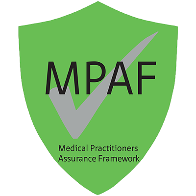 Medical Practitioners Assurance Framework (MPAF) Logo